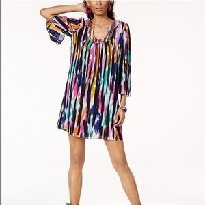 Trina Turk x INC colorful dress